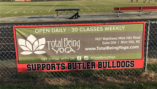 Proud Sponsor for Butler High School
