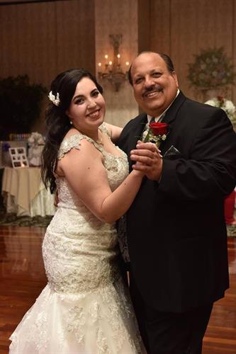 Father/Daughter, Jewish/Italian Christian ceremony
