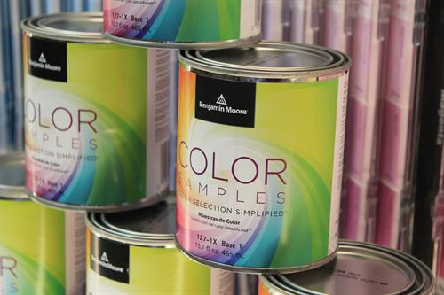 Take some colors home to try them on with our super popular Benjamin Moore paint samples!