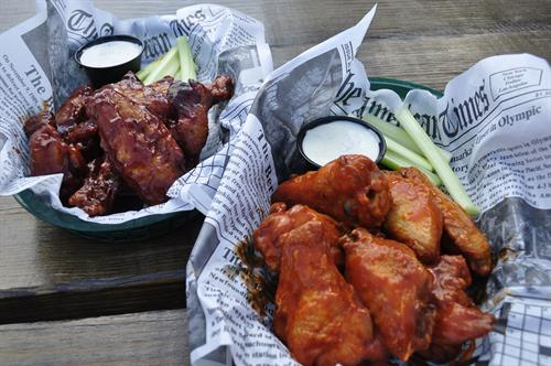 The best wings in town