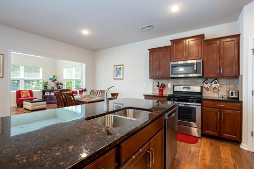 kitchen and Glorious sunroom (Property sold)