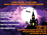 1st Annual Great Pumpkin Painting Contest