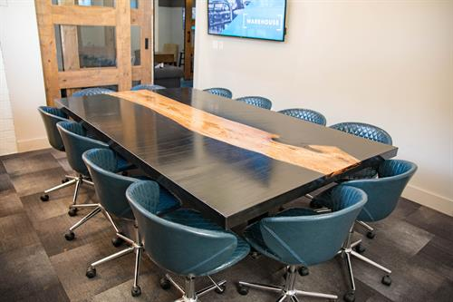 Conference Rooms Available for hourly rental - The CLT holds 12-13 ppl