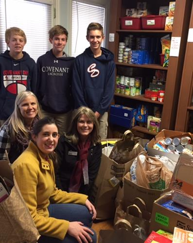 Covenant Day School annual food drive
