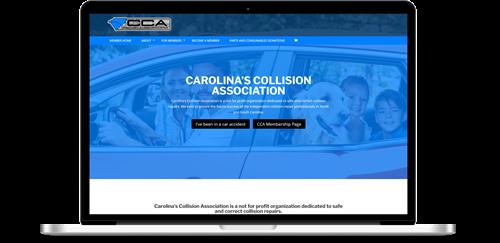 Carolinas Collision Association Membership Website