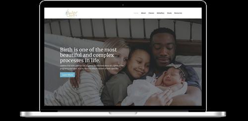 Beautiful Childbirth Website