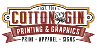Cotton Gin Printing & Graphics, Inc.