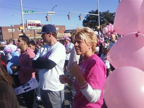 Debbie Davis Breast cancer walk