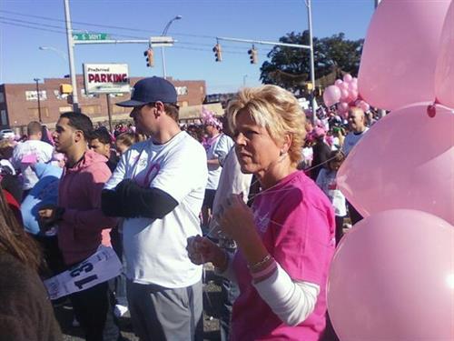 Debbie Davis Breast cancer walk