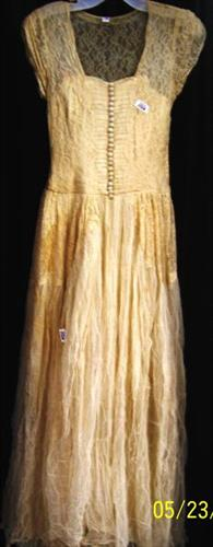 Before preservation gown
