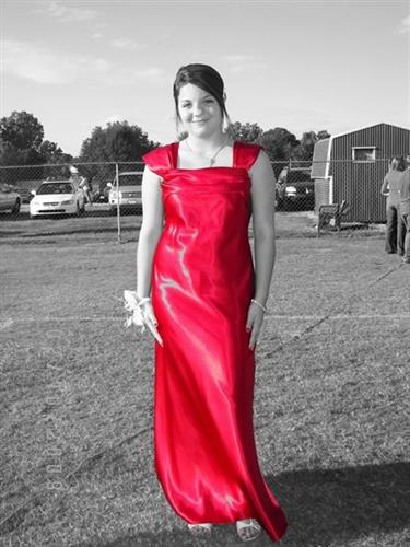 Beautiful prom dress plus this is my youngest