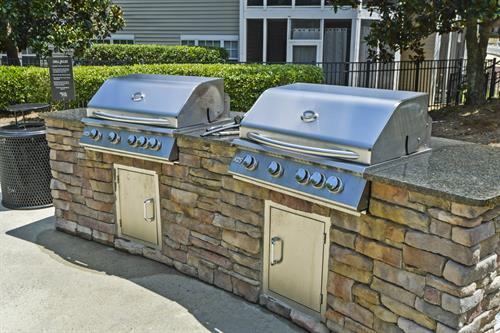 Gas Grilling Station