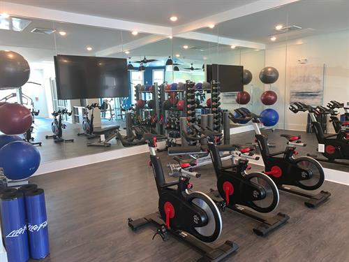 WellBeats Virtual Fitness Area