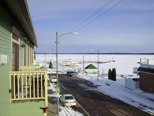 Bayfield is open all year.  Come enjoy winter!
