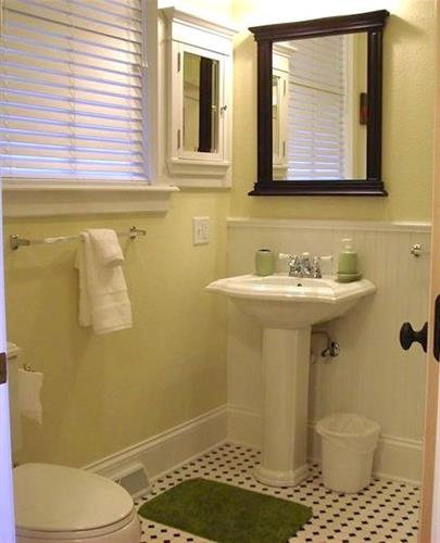 Bathroom with Tub & Shower combination.
