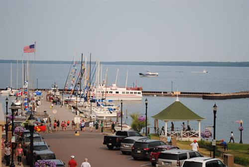The Best Views in Bayfield are from the Andrew Tate Condo's.