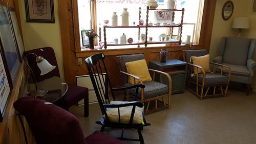 Furniture, house-wares, craft items, linens, and much more.