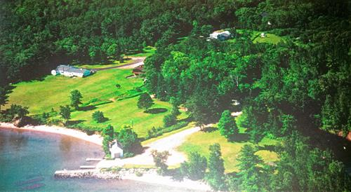 Aerial View of Bodin's Resort