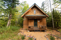 A Brickyard Cottage (Unit #41) — Year-Round Cabin In the Woods