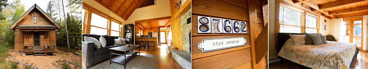 A Cozy Northwoods Getaway — Cedar Chalet at Brickyard Creek