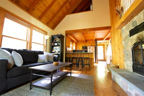 After a day of summer adventure, relax watching a movie on the flat-screen TV or playing one of the many unique board games at the cottage. Cable and WI-FI are also both available!