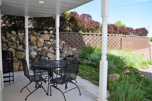 Private Walk-out Patio
