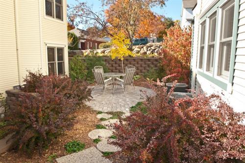 Private Garden Patio