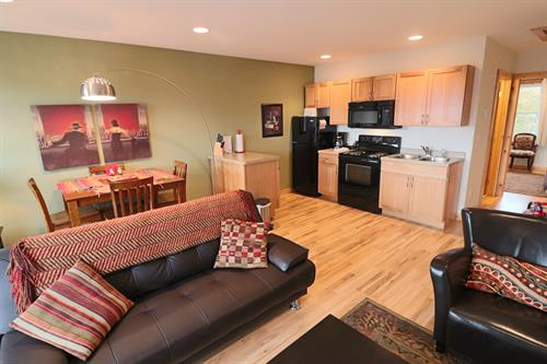 Open Floor Plan & Fully Equipped Kitchen