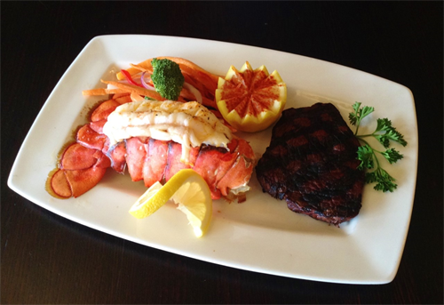 Choice Steak & Lobster Tail