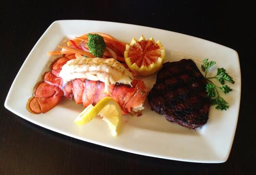 Choice Steak & Lobster Tail