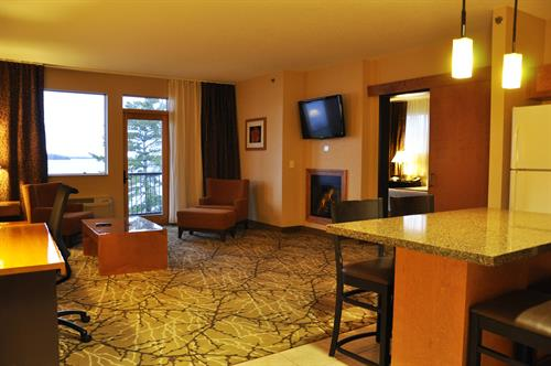 Premier Suite - Every room has beautiful views of Lake Superior and the islands!
