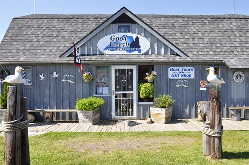 Good Earth Gift Shop - Unique gifts and souvenirs located in the Marina District in Cornucopia, WI