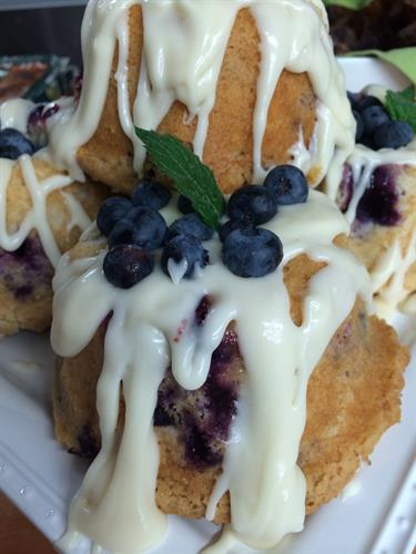 Fresh Pick ....Bayfield Blueberry Muffin