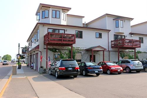 Washington Condo #203 Sleeps 8.  1 Block from Madeline Island Ferry.