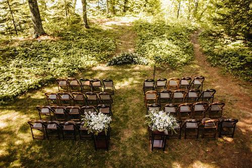 M & C's Madeline Island Wedding