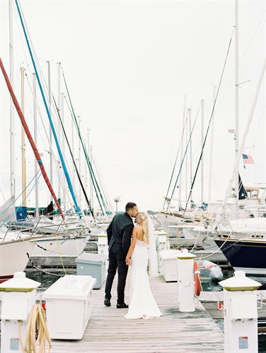 T + J's Madeline Island + Bayfield, WI Wedding