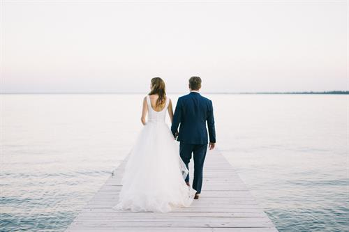 C & C's Madeline Island Wedding