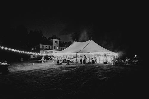 C + S's Bayfield, WI Tented Wedding