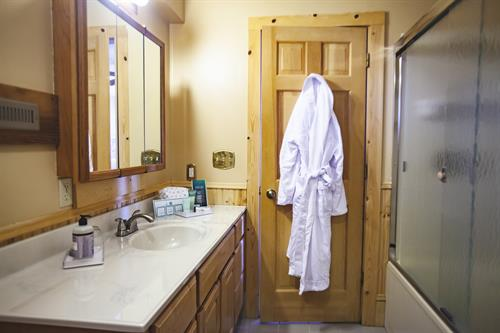 Clean bathroom