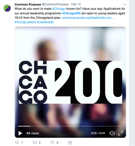 Logo design for Chicago 200