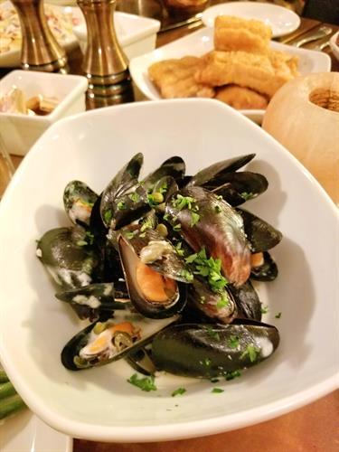 Mussels Marinière (gf)