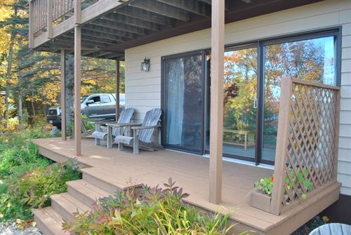 Fedora Lake View Deck.