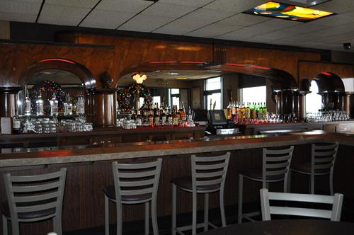 Enjoy relaxing at The Harbor View Event Center at the Bar or the Patio overlooking the Bay