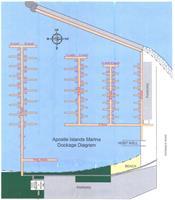 Our dockage diagram for transient visitors