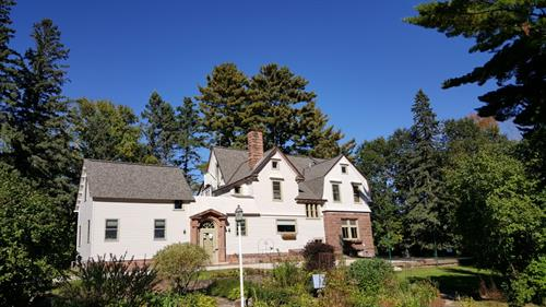 Side View of Main House on a Beautiful Bayfield Day
