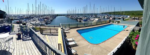 The Clubhouse Pool at Port Superior