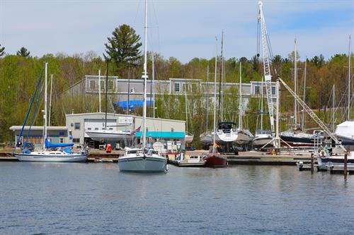 Port Superior's Fuel Dock, Ship Store and Service Department