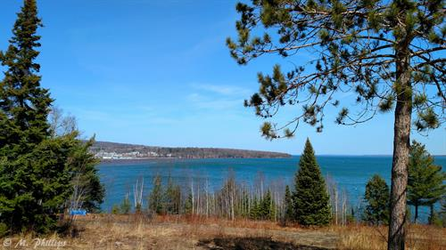 A view of Port Superior from the other side of the bay