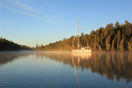 Serene Anchorages in the Apostle Islands.