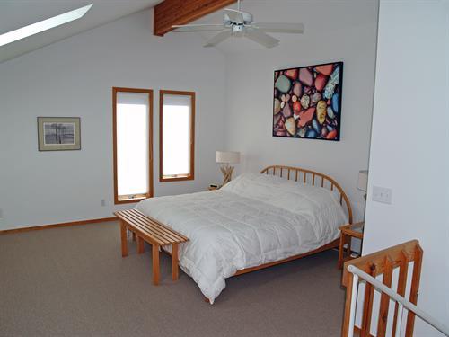 Madeline bedroom in loft